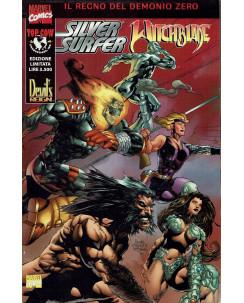 Silver Surfer Witchblade il regno del demonio zero ed. Marvel Top Cow