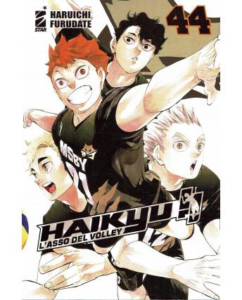 Haikyu L'Asso del Volley n.44 di Haruichi Furudate ed. Star Comics NUOVO