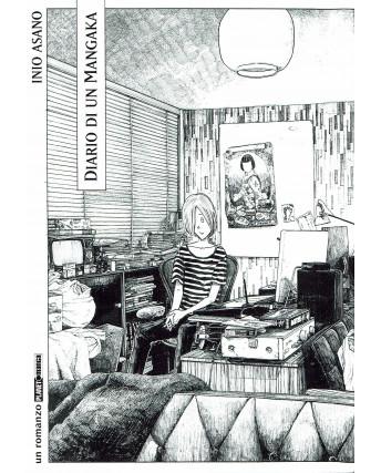 Diario di un mangaka di Inio Asano volume UNICO NOVEL ed. Panini