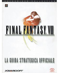 Final Fantasy VIII Giuda strategica ufficiale italiano ed. PIGGYBACK FF17