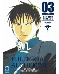 FullMetal Alchemist DELUXE  3 di Hiromu Arakawa ed. Panini