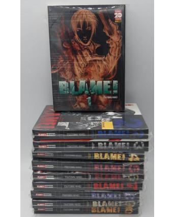 Blame 1/10 serie COMPLETA di Tsutomu Blame Nihei nuova versione Panini SC01