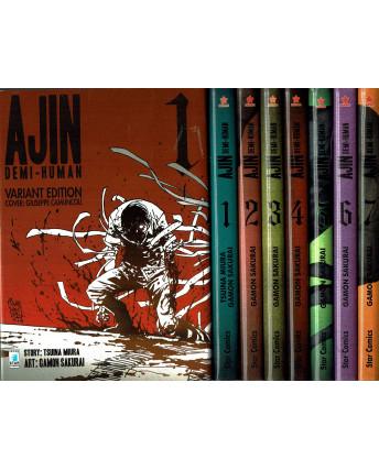 Ajin Demi Human 1/15 serie COMPLETA + 1 VARIANT ed. star Comics SC01