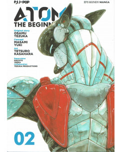 Atom the Beginning  2 original story Tezuka ed. JPop