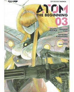 Atom the Beginning  3 original story Tezuka ed. JPop