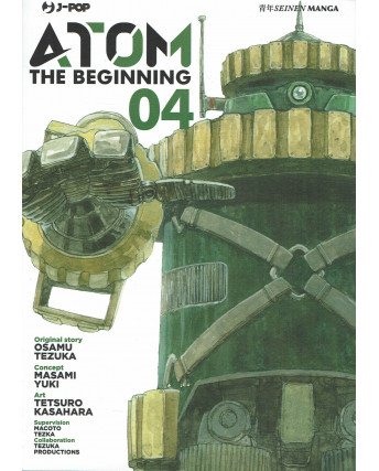 Atom the Beginning  4 original story Tezuka ed. JPop