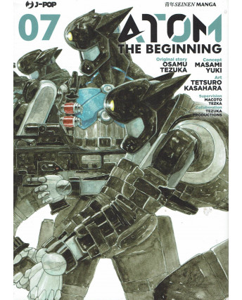 Atom the Beginning  7 original story Tezuka ed. JPop