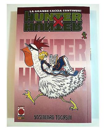 Hunter x Hunter n. 4 di Yoshihiro Togashi Ristampa ed. Panini NUOVO