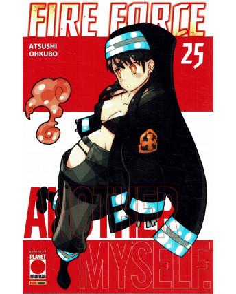 Fire Force 25 di Atsuhi Ohkubo aut.Soul Eater  ed. PANINI