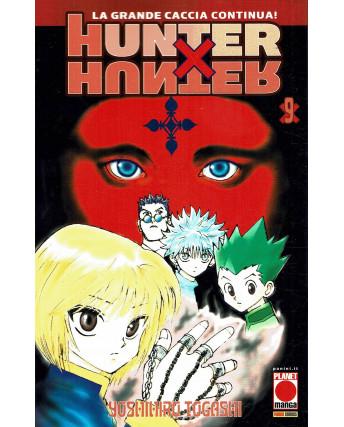 Hunter x Hunter n. 9 di Yoshihiro Togashi RISTAMPA ed. Panini