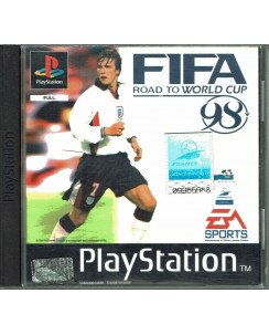Videogioco Playstation 1 FIFA 98 ROAD TO WORLD CUP ENG EA sports libretto