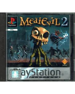 Videogioco Playstation 1 MEDIEVIL 2 PS1 ITA Platinum