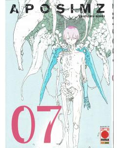 Aposimz  7 di Tsutomu Nihei (Blame, Biomega) ed.Panini NUOVO