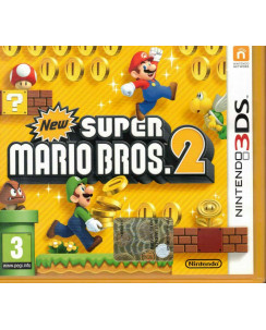 Videogioco Nintendo 3DS New Super Mario Bros 2 PAL ITA libretto