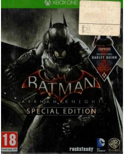 Videogioco X Box One BATMAN ARKHAM KNIGHT SPECIAL edition 18+ Warnebros