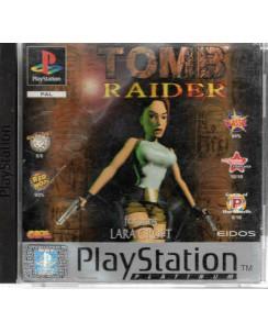 Videogioco Playstation 1 Tomb Raider Platinum PS1 USATO ITA 15+ Eidos