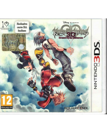 Videogioco Nintendo 3DS Kingdom Hearts 3D Dream Drop Distance Cards Square E PAL