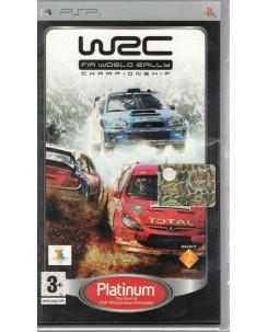 Videogioco PSP WRC WORLD RALLY CHAMPIONSHIP PAL ITA 3+ Platinum
