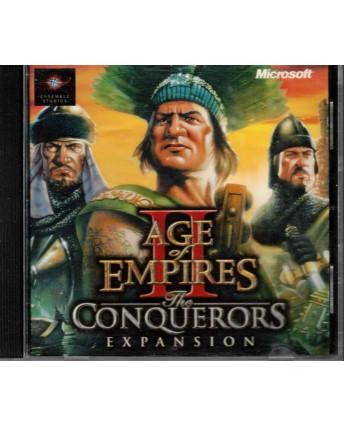 Videogioco PC Age of Empires II the conquerors Microsoft