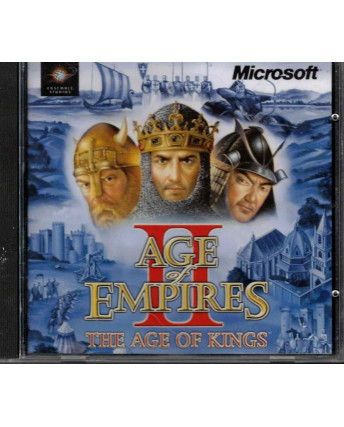 Videogioco PC Age of Empires II the Age of Kings Microsoft ITA