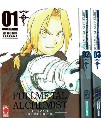 FullMetal Alchemist DELUXE  1/4 seq. COMPLETA di Hiromu Arakawa ed. Panini SC02