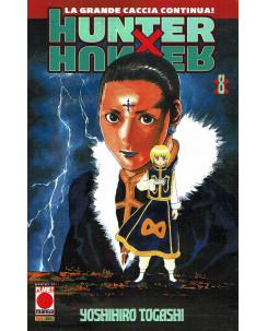 Hunter x Hunter n. 8 di Yoshihiro Togashi RISTAMPA ed. Panini