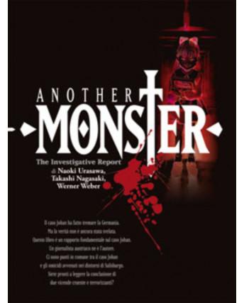 Another Monster di Naoki Urasawa Romanzo Illustrato RISTAMPA ed. Panini