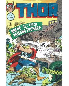 Thor n.  4 anche gli eroi possono tremare II serie ed. Corno