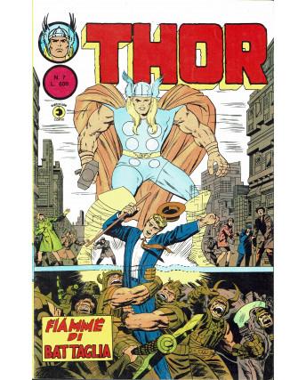 Thor n.  7 fiamme di battaglia II serie ed. Corno