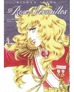 Lady Oscar Le Rose di Versailles 8 di R. Ikeda ed. JPop NUOVO