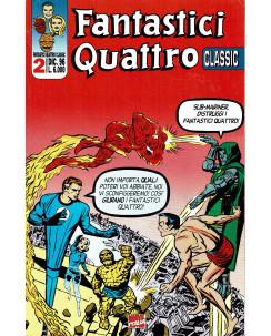 Fantastici Quattro Classic 2 di Kirby e Kubert ed.Marvel Comics