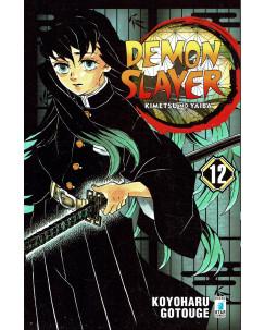 Demon Slayer 12 Kimetsu no Yaiba di K.Gotouge ed.Star Comics NUOVO