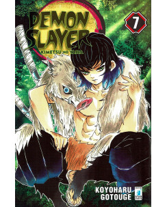 Demon Slayer  7 Kimetsu no Yaiba di K.Gotouge ed.Star Comics NUOVO