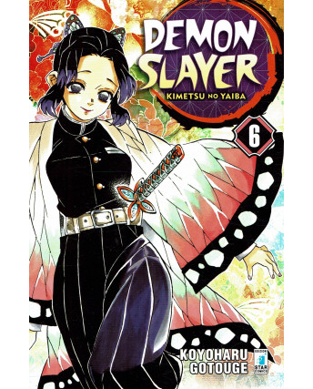 Demon Slayer  6 Kimetsu no Yaiba di K.Gotouge ed.Star Comics NUOVO