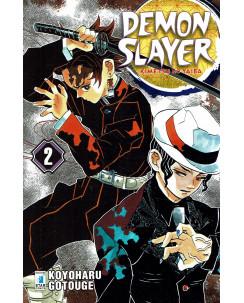 Demon Slayer  2 Kimetsu no Yaiba di K.Gotouge ed.Star Comics NUOVO
