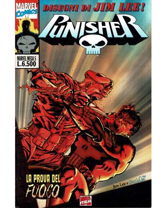 Marvel Mega N.  5 Punisher La prova del fuoco ed. Marvel Italia