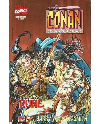 Marvel Crossover n. 12 Conan le grandi saghe di Windsor Smith ed. Marvel