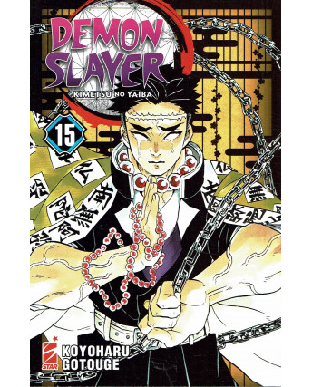Demon Slayer 15 Kimetsu no Yaiba di K.Gotouge ed.Star Comics NUOVO