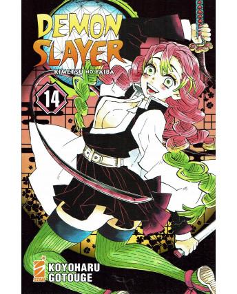 Demon Slayer 14 Kimetsu no Yaiba di K.Gotouge ed.Star Comics NUOVO