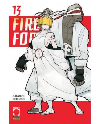 Fire Force 13 di Atsuhi Ohkubo RISTAMPA ed. PANINI
