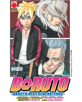Boruto Naruto Next generation  6 di Masashi Kishimoto RISTAMPA ed. PANINI