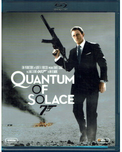 007 Quantum of Solace con Daniel Crag ITA Blue RAY USATO MgM Goldwin