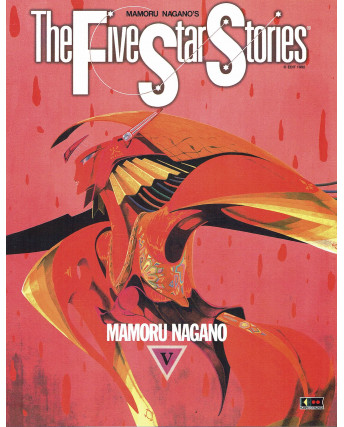 The Five Star stories V di M. Nagano ed. Flashbook NUOVO