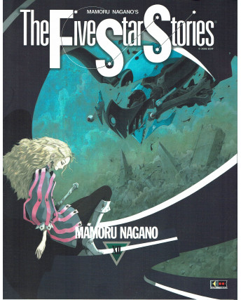 The Five Star stories XII di M. Nagano ed. Flashbook NUOVO