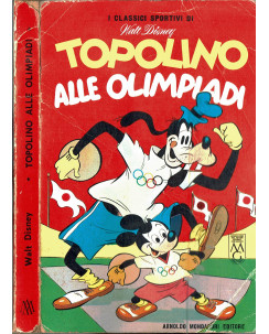 Classici Disney Prima Serie n. 16 Topolino alle OLIMPIADI 1964 ed. Mondadori