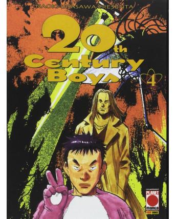 20th Century Boys n. 4 di Naoki Urasawa RISTAMPA ed. Panini NUOVO