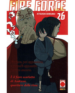 Fire Force 26 di Atsuhi Ohkubo aut.Soul Eater  ed. PANINI