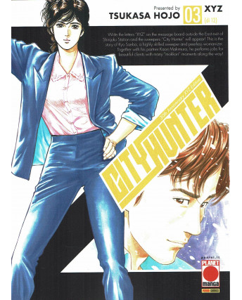 City Hunter XYZ  3 di 12 di Tsukasa Hojo NUOVO ed. Panini