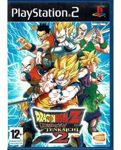 Videogioco Playstation 2: DRAGON BALL Z BUDOKAI TENKAICHI 2 ITA libretto 12+