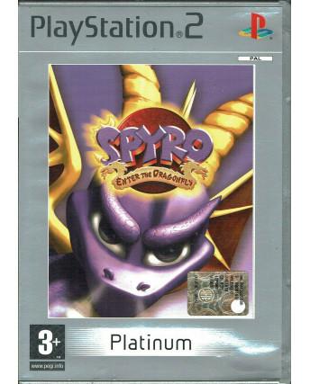 Videogioco Playstation 2 SPYRO ENTER THE DRAGONFLY Platinum PS2 ITA 3+ USATO